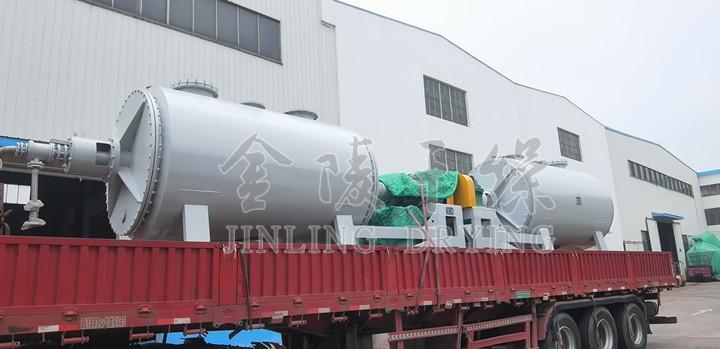 江苏某生物农业股份有限公司订购的2台耙式真空乐天堂是哪个国家的发货啦